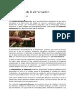 Antropologia de Los Alimentos