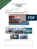 Unit IV. General Procedure of Preparing Ships for Entering Ports(Revisado)