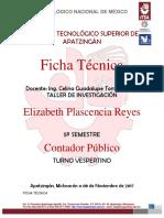 Ficha Técnica - Celina