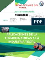 Aplicaciones de La Termodinamica en Textil