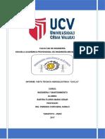 Informe Visita Tecnica Central Hidroelectrica Caclic