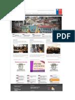 Web Gobierno Consejo Regional Valparaíso