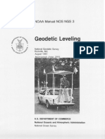 GeodeticLeveling Manual NOS NGS 3