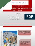 Clases de Mezcla en El Peru
