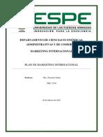G6 Plan de Marketing Internacional