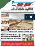 Periódico Lea Lunes 05 de Febrero Del 2018