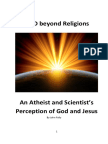 GOD Beyond Religion - Atheist and Scientist Perception of  Jesus