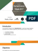 Humanitarian Week - Behind My Smile Proposal