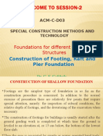 SCMT-S-2-Coonstruction of Footing, Raft & Pier Foundation
