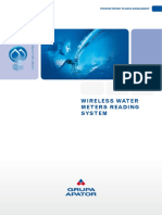 Wireless Water Meters Reading