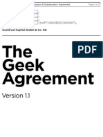 Geek Agreement v1