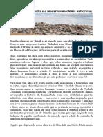 Modernismo e Monismo Chines de Brasilia Francesa Dos Desenove