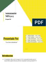 Presentacion Simulador - Grupo 02