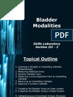 Bladder Modalities