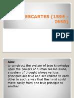 Rene Descartes (1596 - i650)