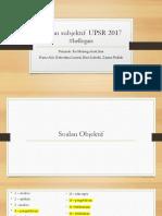 Analisis Soalan UPSR