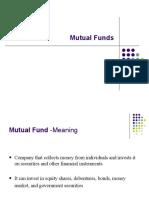 29. Mutual Funds