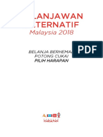 Belanjawan Alternatif 2018 PH (Versi BM)-1