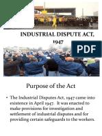 2 Industrial Dispute Act 1947