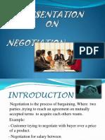 Negotiation Pre