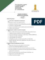 Bendjaima t Correction Emd Mainteannce Industrielle 1 1