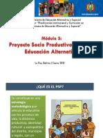 Proyecto Socio Productivo de Educacin Alternativa