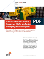 Essential Emerging Technologies Corporate Boards