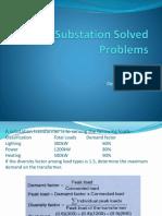 Substation Solved Problems