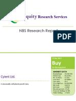 Dec, 2017 - NBS Report_Cyient Limited