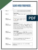HPSEB E-Tendering Steps