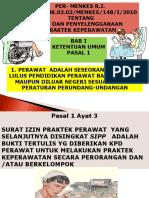 PERMENKES-148-2010.ppt