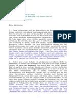 Studienkommentare - Hegel - Beweise Vom Dasein Gottes - 1-16 Vorlesung
