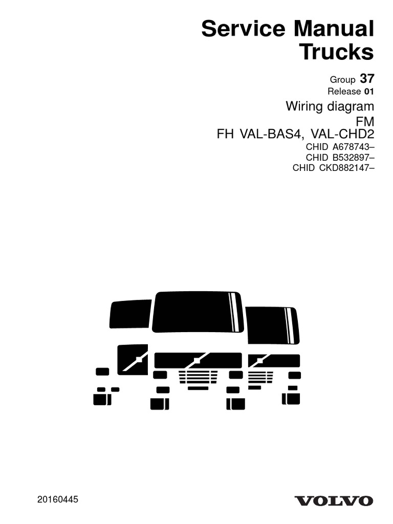 [SCHEMATICS_4US]  Volvo Service Manual Trucks FM FH | Electrical Connector | Electrical Wiring | Volvo Wiring Diagram Fh |  | Scribd