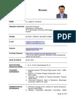 Dr J R Sonwane