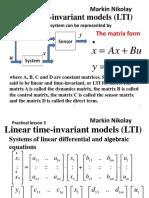 Linear Analysis 3 03 2017