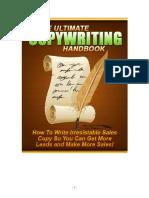 The Ultimate Copywriting Handbook