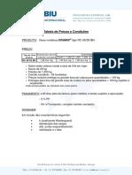 Tabela Preços - BIU 2011 - Dramix RC-6535-BN