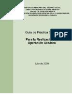 Guia Práctica Clínica Operación Cesárea