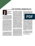 El Engaño de Nuestra Democracia