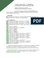 22. ORDONANŢĂ Nr 119-1999 Auditul...