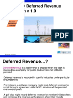 Deffered Revenues