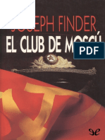 Finder Joseph - El Club de Moscu.epub