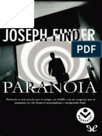 Finder Joseph - Paranoia.epub