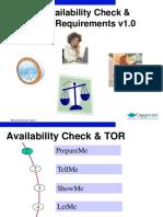 Availibilty Check