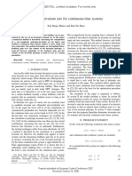 Polytopics Invariants Sets