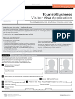 Visa Application Form New Zealand-Copy