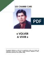 Testimonio Felix Chambi PDF