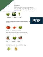 Como Mezclar Las Frutas y Verduras