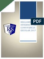CCRSH - Reglamento Interno y de Convivencia Escolar 2017
