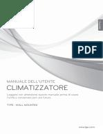 MANUALE CLIMATIZZATORE LG k12ah